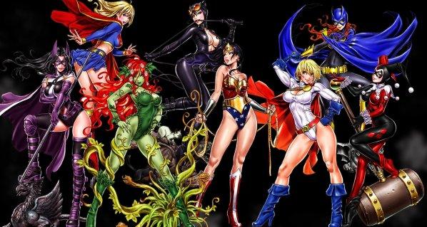 Bishoujo Style DC Comics Characters by Shunya Yamashita - Anime Manga Art