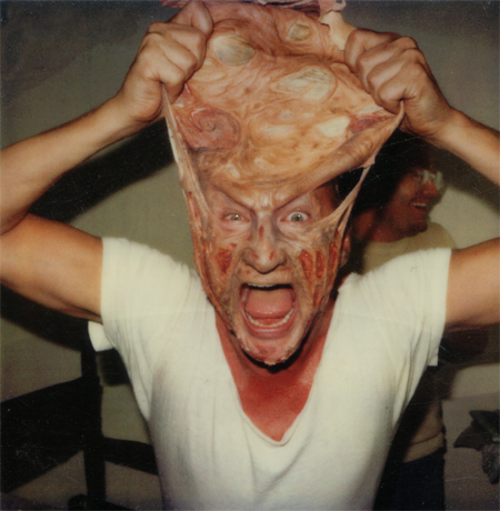 Robert Englund as Freddy Krueger - Nightmare on Elm Street behind the scenes photos, lobby cards, posters, promotional pictures (10)
