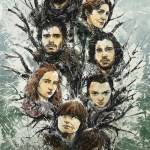 Stark Family Tree by Fresh Doodle - Game of Thrones - Song of Ice and Fire