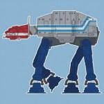 Optimus Prime AT-AT - Star Wars, Transformers