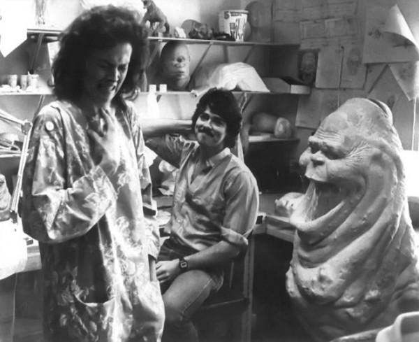 Ghostbusters Behind the Scenes: Sigourney Weaver meets Slimer aka Onionhead