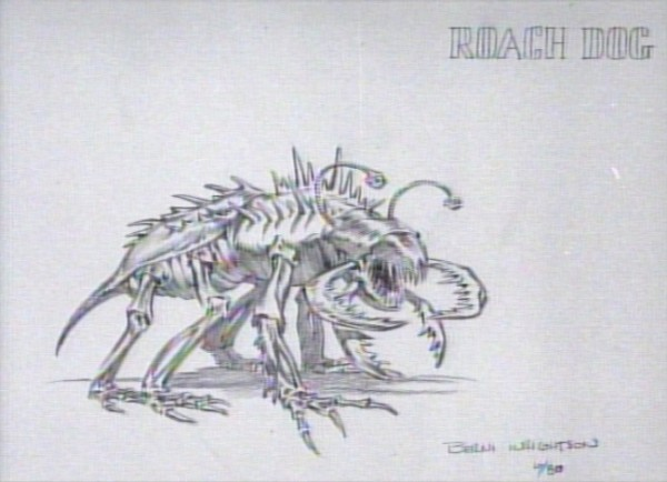 Ghostbusters: Terror Dogs Concept Art