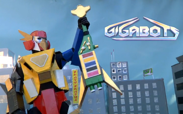 Gigabots: Hilarious Power Rangers Parody Web Series - Channel 101