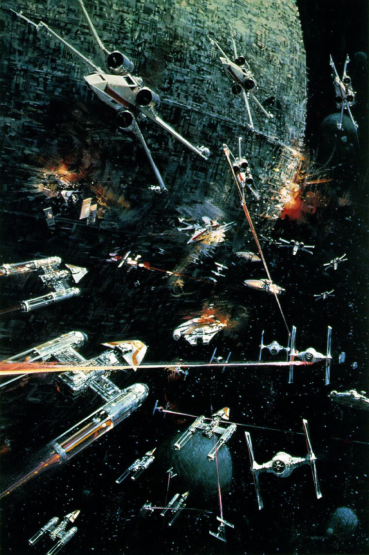 amazing film artwork by john berkey. Black Bedroom Furniture Sets. Home Design Ideas