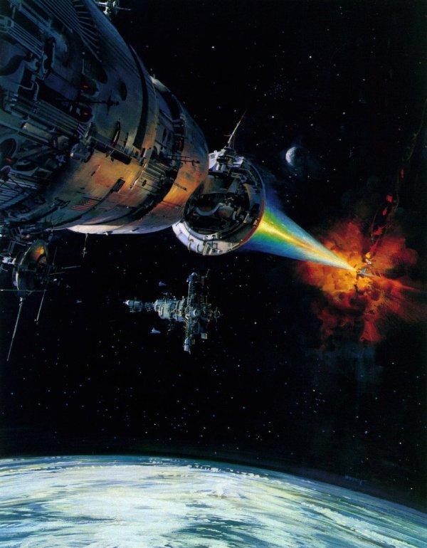 Science Fiction Illustrations by John Berkey - Sci-Fi Space Art (6)