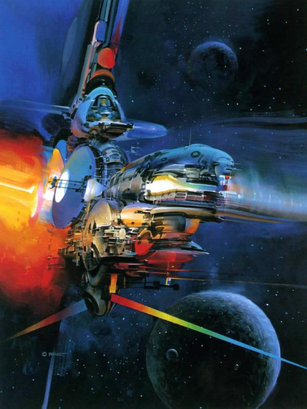 Science Fiction Illustrations by John Berkey - Sci-Fi Space Art (1)