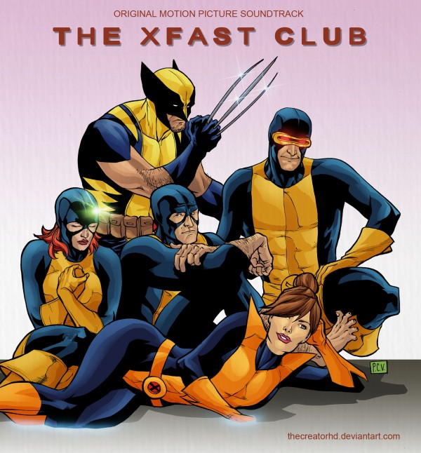 X-Men in The Breakfast Club Soundtrack by Phillip Sevy