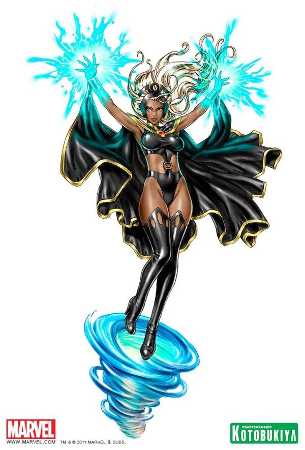 Bishoujo Style Storm by Shunya Yamashita - X-Men, Marvel Comics, Anime, Manga