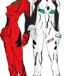 Creepy Beavis & Butt-Head x Neon Genesis Evangelion Mashup by Peekasso