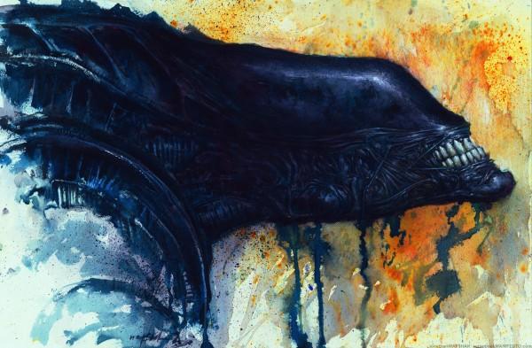 Xenomorph Alien Art by Jonathan Wayshak