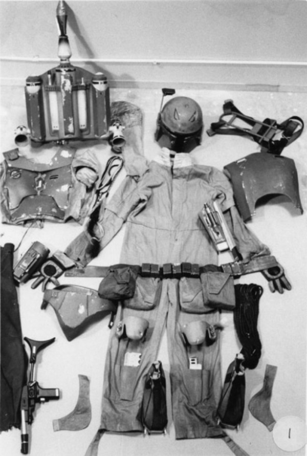 Boba Fett's clothing, armor, weapons, and accessories - Star Wars Empire Strikes Back Behind the Scenes