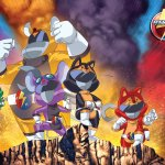 Secret Crime Fighting Team Rescue Rangers by dyemooch - Chip 'n' Dale x Power Rangers