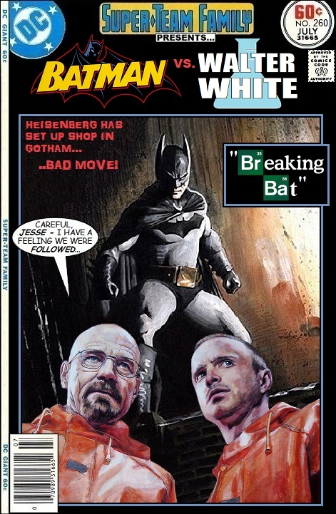 Batman vs Walter White - Breaking Bad x DC Comics Crossover