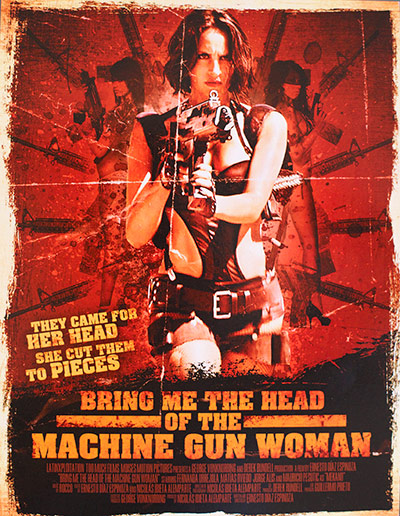 Bring Me the Head of the Machine Gun Woman - Most Ridiculous Movie Posters from Cannes 2013