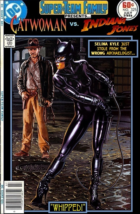 Catwoman vs Indiana Jones - Raiders of the Lost Ark x Batman Crossover