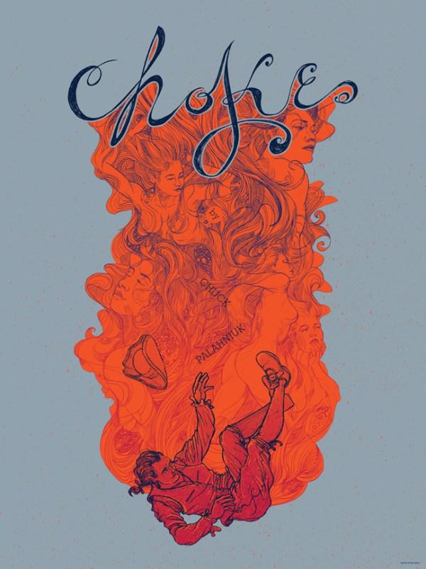 Chuck Palahniuk's Choke Poster by Kevin Tong