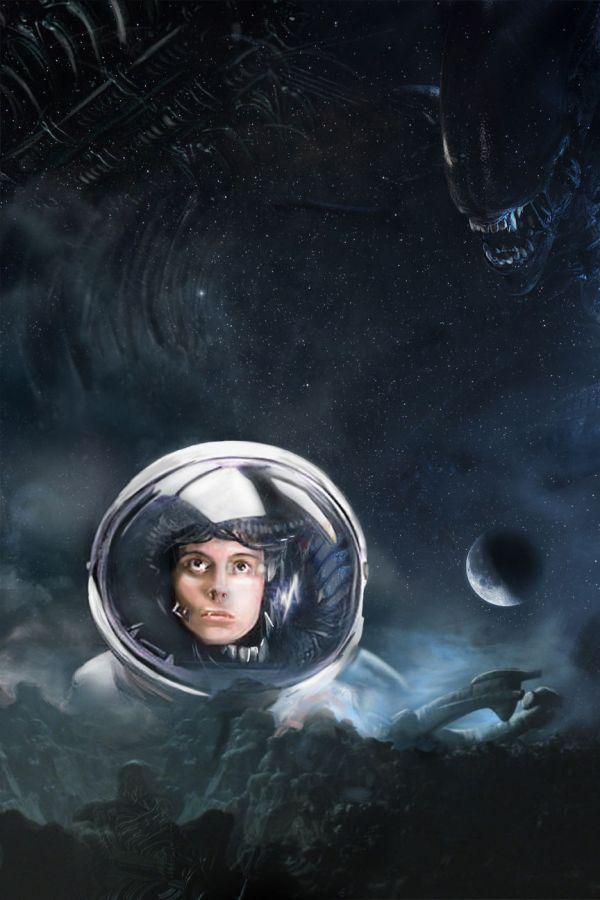 Alien vs Ellen Ripley by Eric Dyer