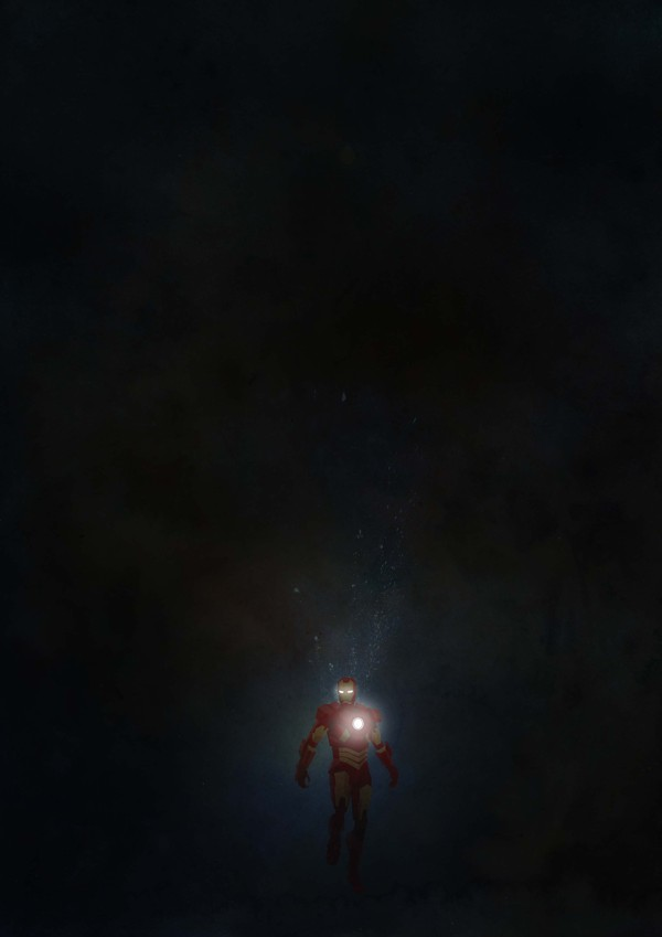 Lonely Iron Man by Cosmosnail - Superheroes, Comics