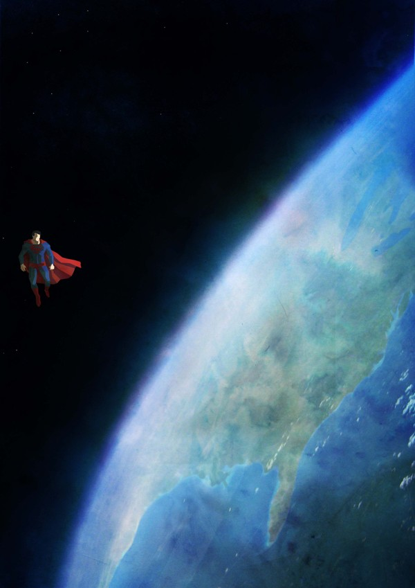 Lonely Superman by Cosmosnail - Superheroes, Comics