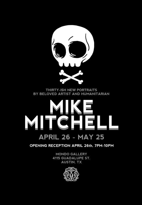 Mike Mitchell Mondo Gallery Solo Art Show