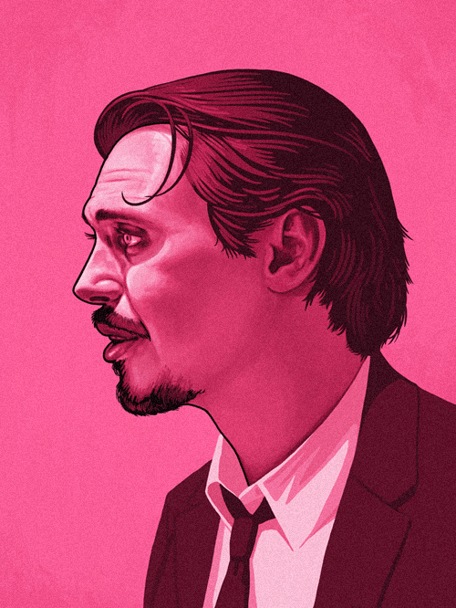 Mr Pink (Steve Buscemi) from Reservoir Dogs by Mike Mitchell - Quentin Tarantino