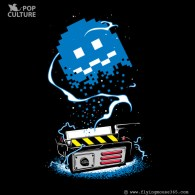Pac-Man x Ghostbusters Mashup by FlyingMouse365 - Inky in Ghost Trap