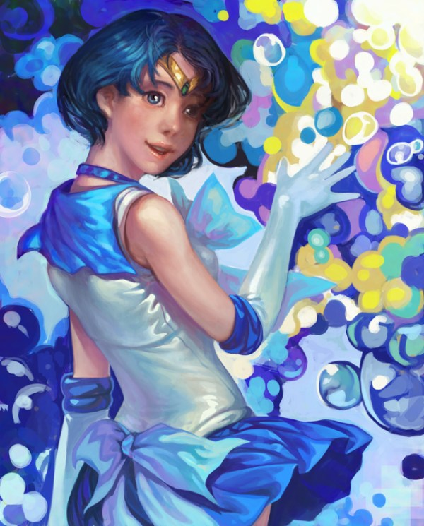 Sailor Mercury by Nozomu Ikeuchi - Sailor Moon - Anime - Manga - Ami Mizuno