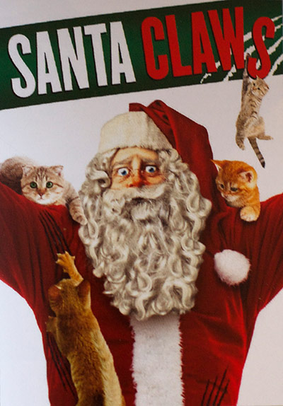 Santa Claws - Most Ridiculous Movie Posters from Cannes 2013