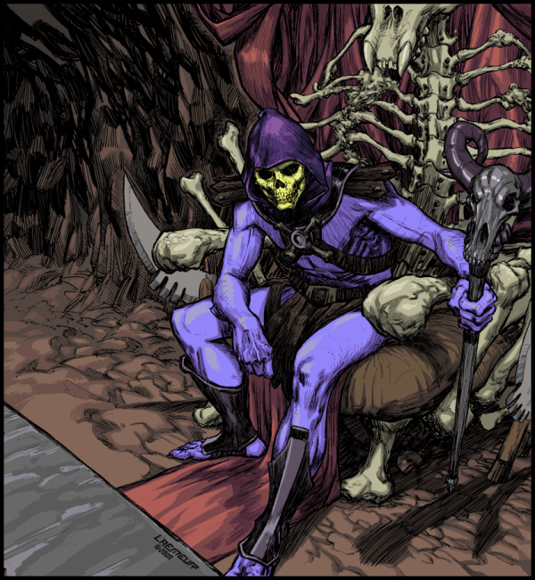 Skeletor by Laemeur - Masters of the Universe