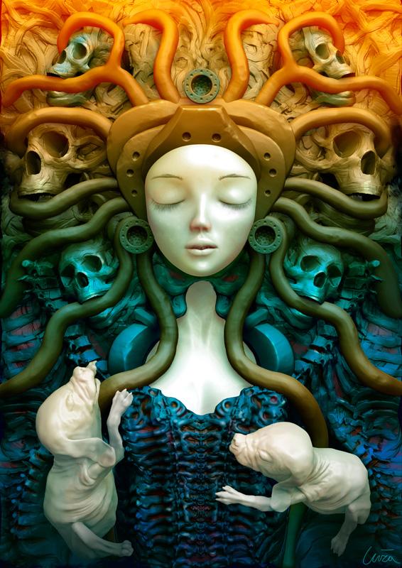 Sleeping Beauty by Andrzej Kuziola - Reimagined Fairy Tale Illustrations