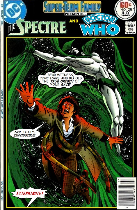 Spectre and Doctor Who Team-Up - DC Comics Crossover
