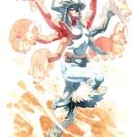 Spiral Juggling Corgis by NightmareHound - X-Men, Marvel Comics