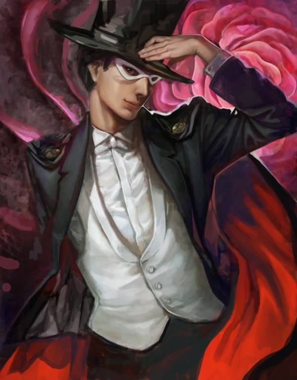 Tuxedo Mask by Nozomu Ikeuchi - Sailor Moon - Anime - Manga