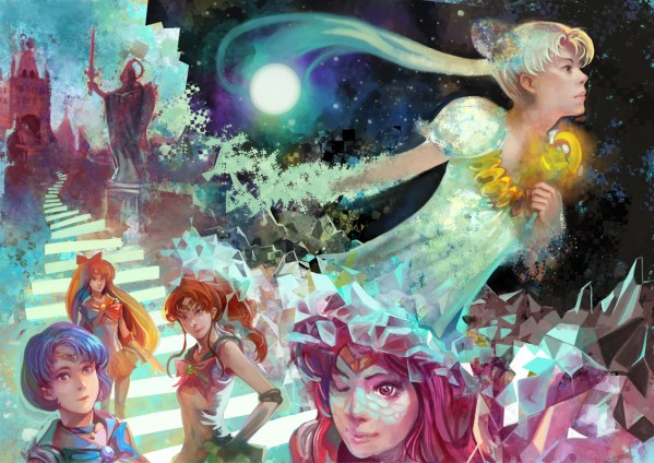 Sailor Moon Fan Art by Nozomu Ikeuchi - Anime - Manga