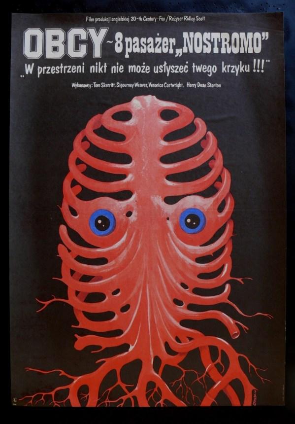 polish alien poster - ridley scott