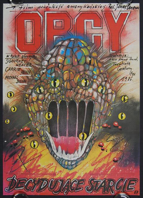 polish aliens poster - James Cameron