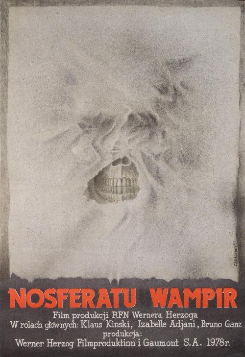 Polish Nosferatu Poster - Werner Herzog