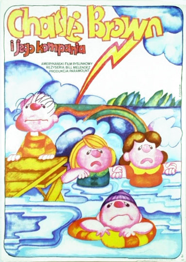 Polish Race for Your Life Charlie Brown Poster - Peanuts