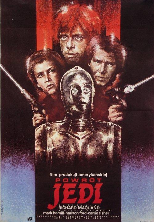 Polish Star Wars Return of the Jedi Poster