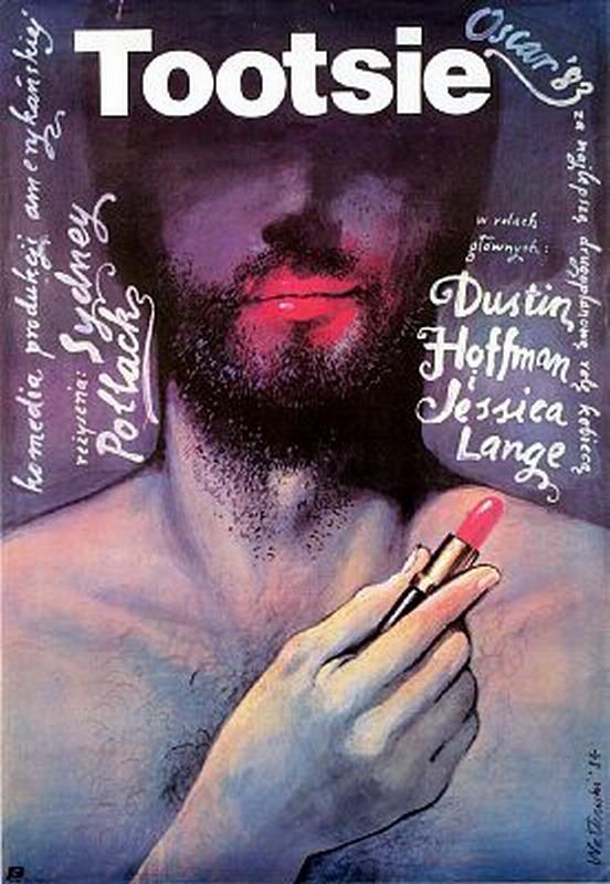 polish tootsie poster - dustin hoffman