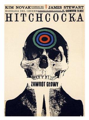polish vertigo poster - alfred hitchcock