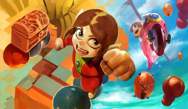Alex Kidd By Vandrell - retro video game art
