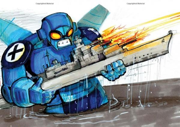 Blue Robot - The Art of Rob Schrab
