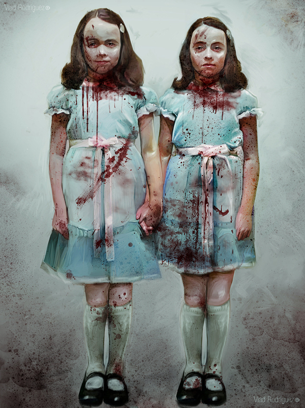 The Shining - Grady Twins by Vlad Rodriguez - Stanley Kubrick - Stephen King