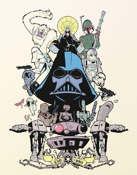 Power and Glory Forever by Sam Fout - Star Wars The Empire Strikes Back Art