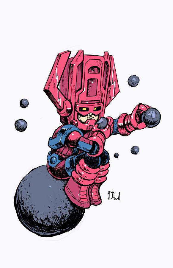 Galactus by Matthew S. Armstrong - Marvel Comics