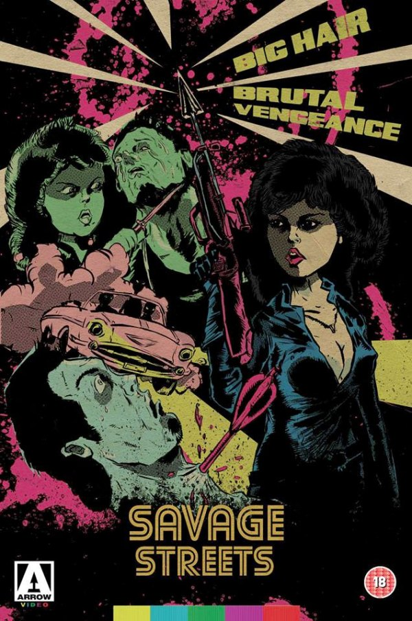 Savage Streets DVD Box Art by Pierre