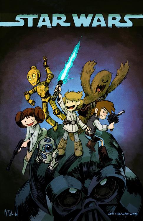 Star Wars Art by Matthew S. Armstrong