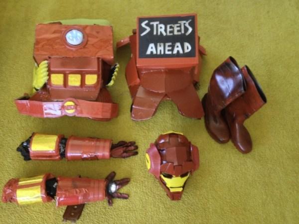 Dan Harmon Iron Man Suit - Community - Made by Rob Schrab