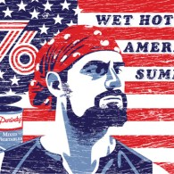 Wet Hot American Summer Flag by Michael Weinstein - Gene - Christopher Meloni